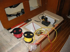 Wiring the windlass into the existing system