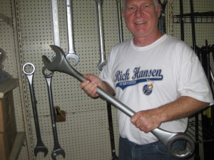Now that's a wrench!
