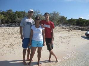 Sarowas meet Alllen's Cay